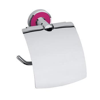 TREND-I: Držák toaletního papíru s krytem, růžová