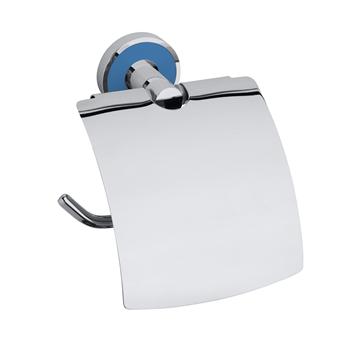 TREND-I: Držák toaletního papíru s krytem, světle modrá