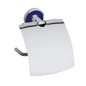 TREND-I: Držák toaletního papíru s krytem, tmavě modrá