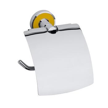 TREND-I: Držák toaletního papíru s krytem, žlutá