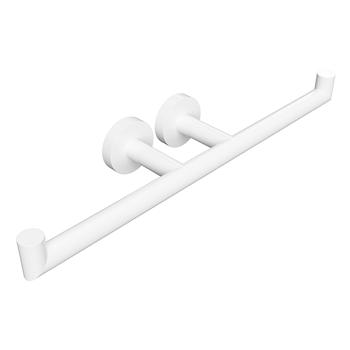 WHITE: Držák toaletního papíru dvojitý
