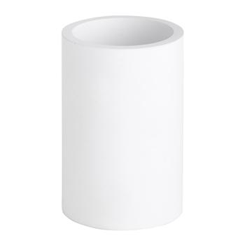 GAMMA: Nádoba pro WC štětku na postavení, kulatá, bílá