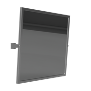 HELP: Výklopné Zrcadlo, nerez 600x600