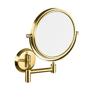 RETRO zlato: Kosmetické zrcátko oboustranné
