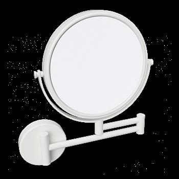 WHITE: Kosmetické zrcátko oboustranné