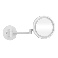 WHITE: Kosmetické zrcátko s LED osvětlením