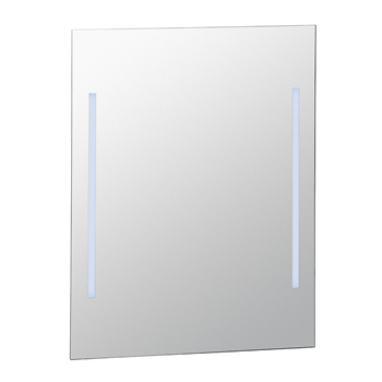 Zrcadlo s LED osvětlením, studené světlo