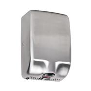 Bezdotykový osoušeč rukou - 1000W, LED light, nerez mat