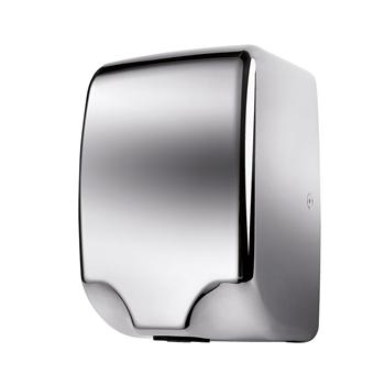 Bezdotykový osoušeč rukou - 1350W,  LED light, nerez lesk