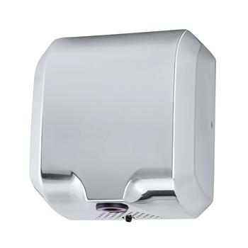 Bezdotykový osoušeč rukou - 1800W, LED light, nerez lesk