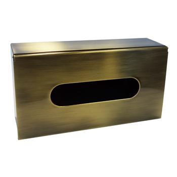 RETRO bronz: Zásobník na papírové kapesníky
