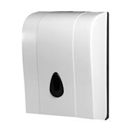 Zásobník na papírové ručníky skládané, plast, bílý