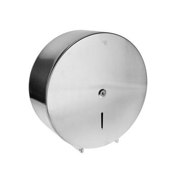 Bubnový zásobník na toaletní papír O 260 mm, se zámkem, mat