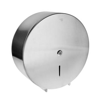 Bubnový zásobník na toaletní papír O 310 mm, se zámkem, mat