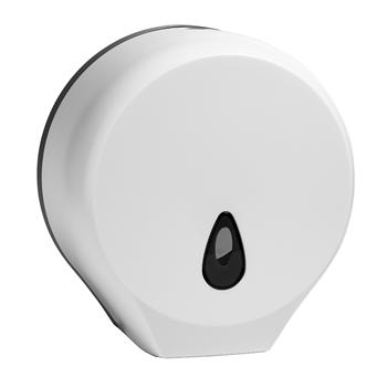 Zásobník na toaletní papír JUMBO, bílý, plast