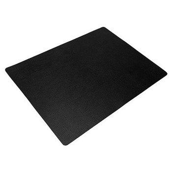 Podložka 33x45 cm, kůže, hrubší povrch, černá