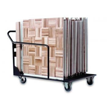 Manipulační vozík pro mobilní taneční parket, 20 m2