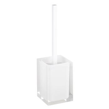 VISTA: WC štětka na postavení, bílá