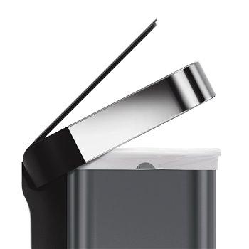 Simplehuman bezdotykový koš s hlasovým a pohybovým sensorem, 58 L, černá ocel, ST2035