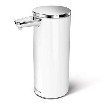Bezdotykový dávkovač mýdla Simplehuman – 266 ml, White - nerez ocel, dobíjecí