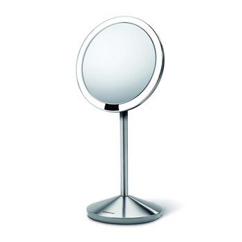 Kosmetické zrcátko Simplehuman - Sensor Tru-lux LED osvětlení, 10x zvětšení, dobíjecí