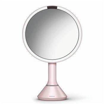 Kosmetické zrcátko Simplehuman Sensor Touch, LED osvětlení, 5x, dobíjecí, pink