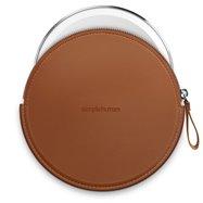 Simplehuman Sensor Compact, hnědé pouzdro se zipem pro kosmetická zrcátka, ST9001