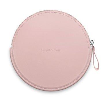 Simplehuman Sensor Compact, růžové pouzdro se zipem pro kosmetická zrcátka, ST9005
