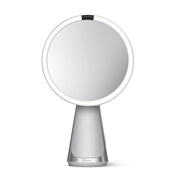 Kosmetické zrcátko Simplehuman Sensor Hi-Fi, LED osvětlení, 5x zvětšení, Alexa, Wi-fi