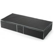 Textilní úložný box na oblečení pod postel Compactor URBAN 90 x 45 x18 cm – černý