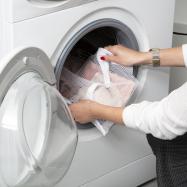 Sáček na praní jemného prádla Compactor 35 x 50 cm – síťka malá