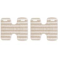 2 ks návleků na dřevěné a laminátové podlahy pro parní vysavače Polti LECOASPIRA
