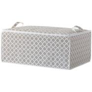 "Textilní úložný box na peřinu Compactor - ""Madison"" 70x50x30 cm"