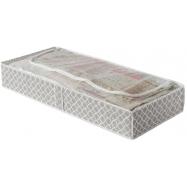 "Nízký textilní úložný box Compactor - ""Madison"" 107 x 46 x 16 cm"