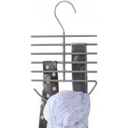 Ramínko na kravaty a šátky Compactor - protiskluzová úprava, 16 x 0,7 x 24,7 cm