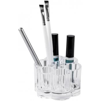 Organizér na štětce a na kosmetiku Compactor - čirý plast