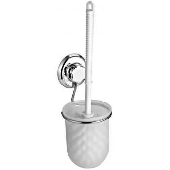 Závěsná WC štětka bez vrtání Compactor - Bestlock systém, nosnost až 6 kg