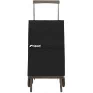 Rolser Plegamatic Original MF nákupní skládací taška na kolečkách, černá