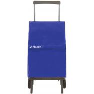 Rolser Plegamatic Original MF nákupní skládací taška na kolečkách, modrá