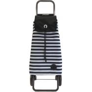 Rolser I-Max Marina Logic RG nákupní taška na kolečkách, černo-bílá
