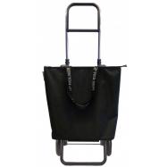 Rolser Mini Bag Plus MF Logic RG nákupní taška na kolečkách, černá