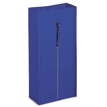 PVC pytel se zipem k vozíkům Nick Star / Green, 120l, modrý