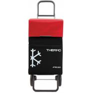 Rolser Termo Fresh MF RG nákupní taška na kolečkách, černo-červená