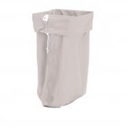 Pytel na prádlo, 700x1100 mm, šedý