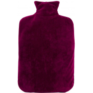 Termofor Hugo Frosch Eco Classic Comfort se sametovým obalem - fialový