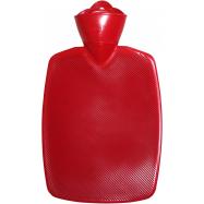 Termofor Hugo Frosch Classic s vysokým drážkováním - červený, zvýšená tepelná izolace