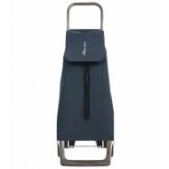 Rolser Jet Tweed JOY nákupní taška na kolečkách, tmavě modrá