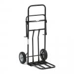 Multifunkční vozík s koly odolnými proti proražení. Určený na odpadkové pytle o objemu 125 l.   Vozík pro mnohostranné využití Kola odolná proti proražení Na odpad. pytle o objemu 125 l