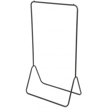Compactor FYN kovový stojan na šaty 80 x 41 x 147 cm, černý
