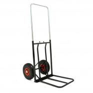 Vozík na balíky pneu kolanosná lišta, nosnost:150kg730-1060x430mm